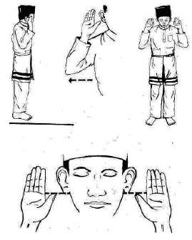 Takbeer position2